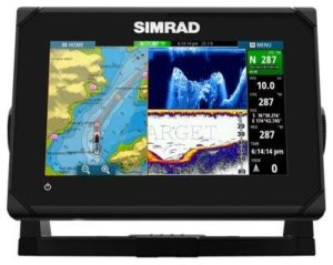 Эхолот-картплоттер Simrad GO7 , В комплекте датчик 83/200/455/800, код 000-12378-001