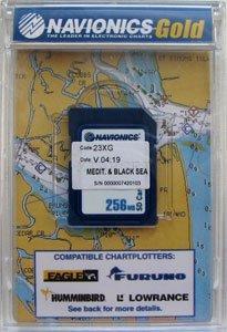 """Карта NAVIONICS  """"ДНЕПР + Средиземное и Черное море, код 43XG"""
