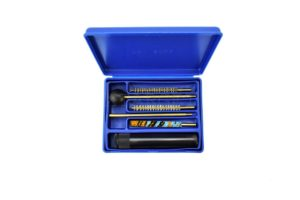 Набор для чистки MegaLine 082/04.5. кал. 4.5. пистолет. латунный шомпол. 2 ёршика. шерстяная пуховка, код 1425.00.99