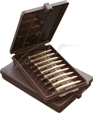 Коробка MTM Ammo Wallet на 9 патронов кал. 223 Rem. Цвет – коричневый, код 1773.08.53