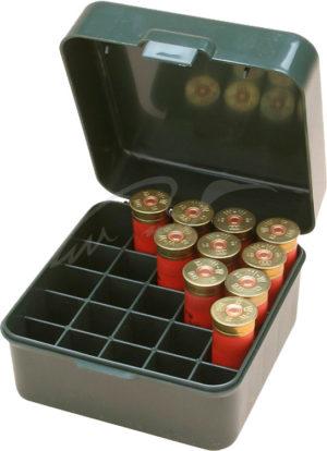 Коробка MTM Dual Gauge Shotshell Case универсальная на 25 патронов 12/16/20 кал., код 1773.08.92