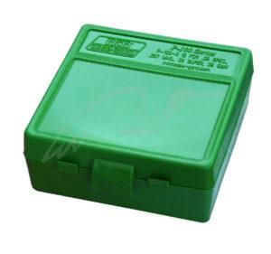 Коробка для патронов MTM кал. 7,62×25; 5,7×28; 357 Mag. Количество – 100 шт, код 1773.10.05