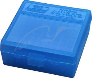 Коробка для патронов MTM кал. 7,62×25; 5,7×28; 357 Mag. Количество – 100 шт, код 1773.10.06