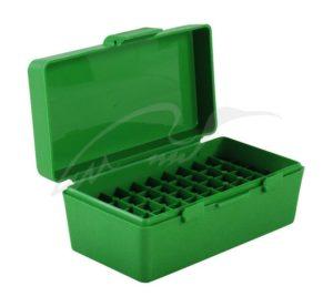 Коробка для патронов MTM кал. 7,62×25; 5,7×28; 357 Mag. Количество – 50 шт., код 1773.10.09
