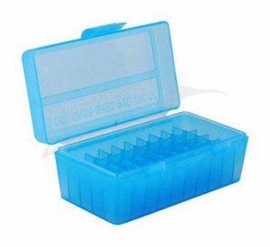 Коробка для патронов MTM кал. 7,62×25; 5,7×28; 357 Mag. Количество – 50 шт., код 1773.10.10