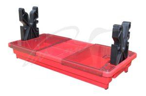 Подставка портативная MTM Portable Rifle Maintenance Center для чистки оружия (с органайзером). Цвет – красный, код 1773.08.73