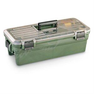 Кейс MTM Shooting Range Box для чистки и уходом за оружием. Цвет – темно-зеленый, код 1773.08.76