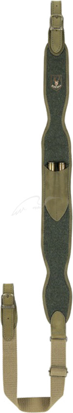 Ремень ружейный  Riserva неопрен, кожа, код 1444.03.32