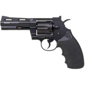 Револьвер пневматический Diana Raptor. Длина ствола – 4 дюйма, код 377.03.13