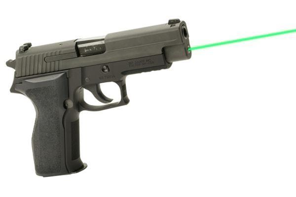 Лазерный целеуказатель интегрированный под SiG Sauer P226 (зеленый), код LMS-2261G