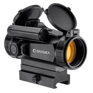 Прицел коллиматорный Barska AR-X Red Dot 1×30 HQ (Weaver/Picatinny) на быстросъемном креплении., код 925762