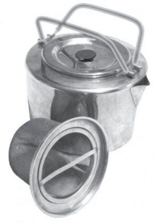 Туристический чайник Tramp с нержавеющей стали, 1.2 литра, код TRC-066