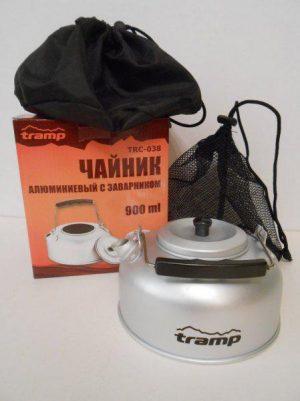 Туристический чайник Tramp алюминиевый, 1.1 литр, код TRC-038