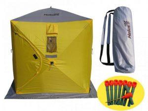 Зимняя палатка Tramp Helios 1.8 м х 1.8 м, высота 2 м, код Helios