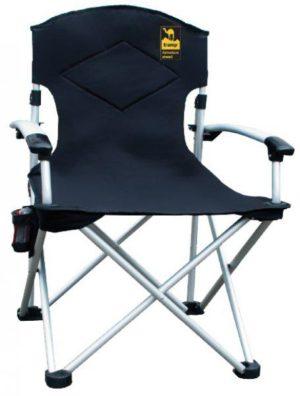 Кресло раскладное Tramp TRF-004, с уплотненной спинкой и жесткими подлокотниками, код TRF-004