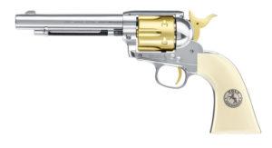 Пистолет пневматический COLT SINGLE ACTION ARMY 45, 120 м/с, стреляет пулями, код 5.8353