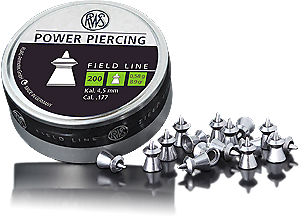 Пули RWS Power Piercing 200 шт., 0.58 гр., код 2400064