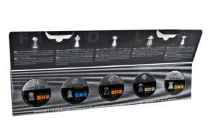 Набор пуль RWS Field Kit, 5 банок по 200 шт., код 2319311