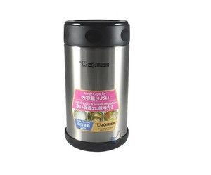Пищевой термоконтейнер ZOJIRUSHI SW-FCE75XA 0.75 л.,  цвет стальной, код 1678.00.90