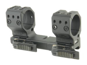 Быстросъемное крепление-моноблок Spuhr QDP-4602. Диаметр колец – 34 мм. Высота – 38 мм. Наклон – 6 MIL/20,6 MO, код 3728.00.27