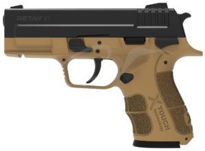 Пистолет стартовый Retay X1 9мм.,  цвет песочный, код 1195.08.05