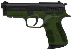 Пистолет стартовый Retay XPro 9мм., цвет olive, код 1195.08.07