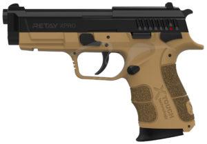 Пистолет стартовый Retay XPro 9мм, цвет песочный, код 1195.08.08
