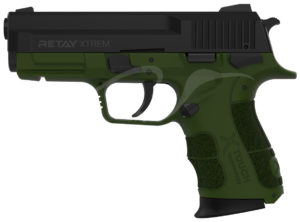 Пистолет стартовый Retay XTreme 9 мм, цвет олива, код 1195.08.10