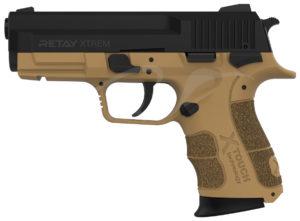 Пистолет стартовый Retay XTreme 9 мм, цвет песочный, код 1195.08.11