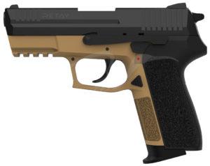 Пистолет стартовый Retay S20 9 мм., цвет песочный, код 1195.08.23