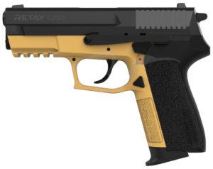 Пистолет стартовый Retay 2022 кал. 9 мм. Цвет – sand., код 1195.08.18