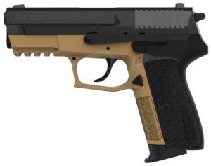 Пистолет стартовый Retay 2022 кал. 9 мм. Цвет – песочный, код 1195.08.20