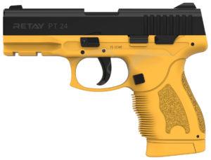 Пистолет стартовый Retay PT24 кал. 9 мм. Цвет – sand., код 1195.08.12