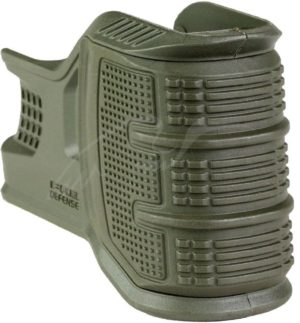 Накладка FAB Defense MOJO на шахту маг. AR15 сменные панели ц:зеленый, код 2410.01.58