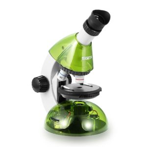 Биологический микроскоп SIGETA MIXI 40x-640x GREEN  (с адаптером для смартфона)