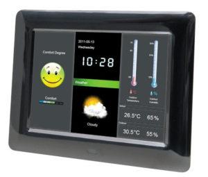 Метеостанция – цифровая фоторамка BRAUN DIGIFRAME 800 WEATHER