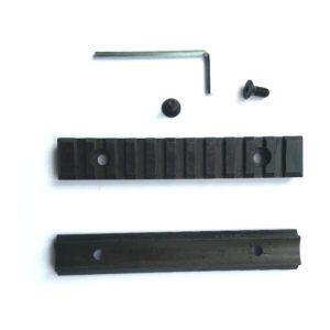 Планка стальная Weaver 105 мм заокругленная, h = 9 мм (1 штука.)