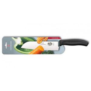 Кухонный нож Victorinox Santoku 6.8503.17B, лезвие 17 см