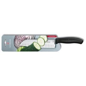 Кухонный нож Victorinox Santoku 6.8523.17B с воздушными карманами, лезвие 17 см