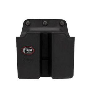 Кобура-подсумок Fobus для двух магазинов Glock 17/19, с креплением на ремень, код 2370.23.56