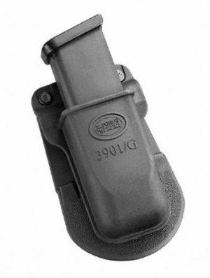 Кобура-подсумок Fobus для одного магазина Glock 17/19 с креплением на ремень, код 2370.23.59