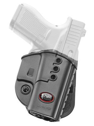Кобура Fobus GL-43 ND BH для Glock 43 с креплением на ремень, код 2370.23.22