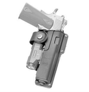 Кобура Fobus EMC для Форт-14 ПП; Colt 1911 поворотная с креплением на ремень, код 2370.23.06