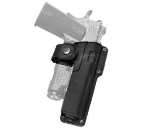 Кобура Fobus EMC RT для Форт-14 ПП, Colt 1911 с поясным фиксатором, поворотная, код 2370.23.04