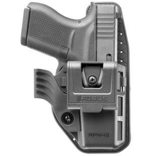 Кобура Fobus APN43 для Glock 43 внутрибрючная, полимерная, код 2370.29.98