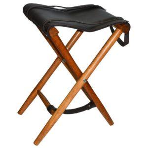 Охотничий стул Акрополис, сидение кожа, код СТ-4