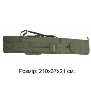 Чехол для удилищ КВ-7бн, 210х37х 21 см, код КВ-7бн