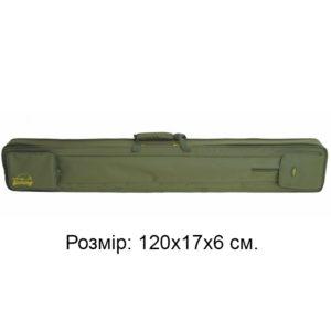 Кофр для 6 спиннингов и удочек КВ-9, 120х17х6, код КВ-9