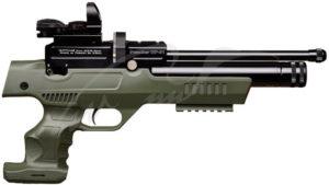 Пневматический пистолет Kral NP-01 PCP 4,5 мм ц:olive, код 3681.01.61