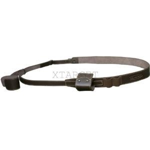 Ремень ружейный быстросменный кожаный с декоративным тиснением, код МРБ-2